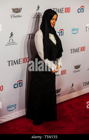 Radhya al-Mutawakel attends TIME 100 GALA on April 23 in New York City - Stock Image