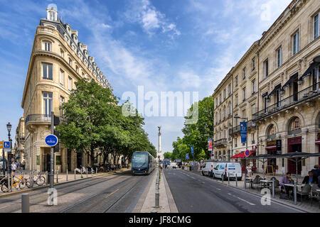 Bordeaux street - Stock Image