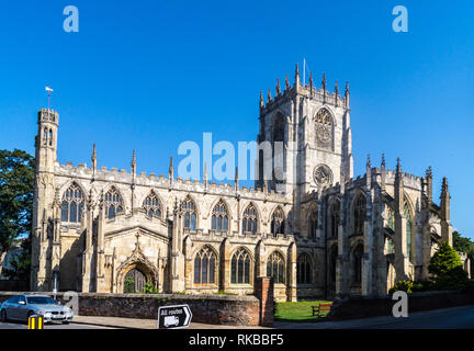 St. Mary's church, North Bar Within, Beverley, East Riding, Yorkshire, England - Stock Image