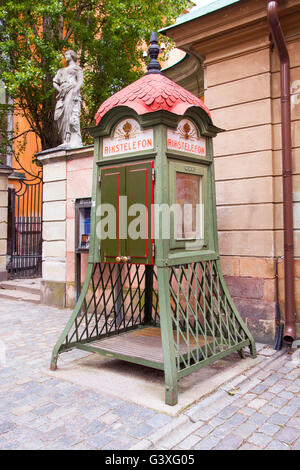 Rikstelephone Stockholm - Stock Image