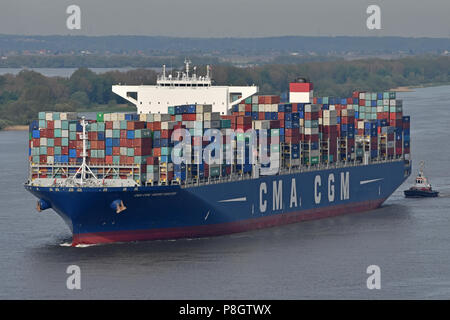 CMA CGM Georg Forster - Stock Image