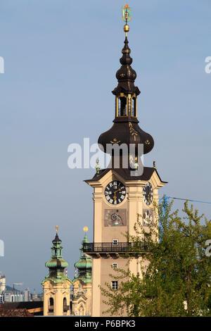 Austria, Upper Austria, Linz, Landhaus, - Stock Image
