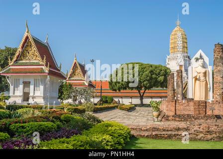 Wat Phra Sri Rattana Mahathat, Phitsanulok, Thailand - Stock Image
