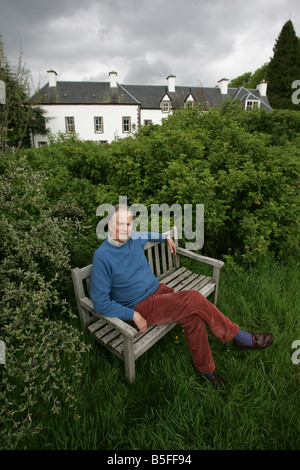 Martin Haldane who owns the Gleneagles Estate which borders the Gleneagles Hotel - Stock Image