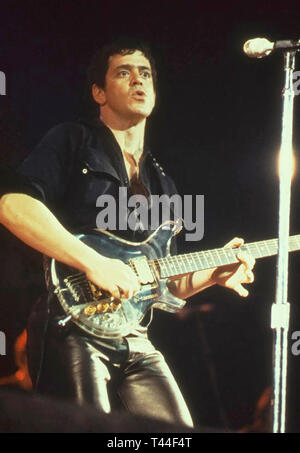 LOU REED (1942-2013) American rock musician about 1980 - Stock Image