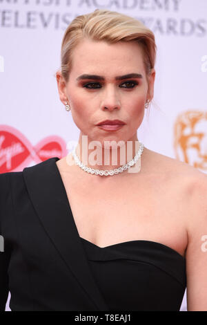 LONDON, UK. May 12, 2019: Billie Piper arriving for the BAFTA TV Awards 2019 at the Royal Festival Hall, London. Picture: Steve Vas/Featureflash - Stock Image