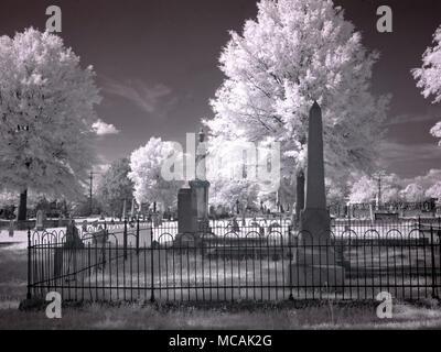 Greenwood Cemetery - Stock Image