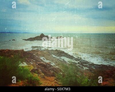 Rocks in the sea - Stock Image