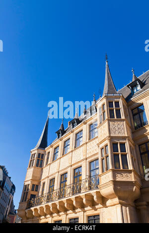 THE GRAND DUCAL PALACE, LUXEMBOURG CITY, LUXEMBURG, LUXEMBOURG - Stock Image