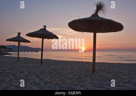Majorca Sunrise - Stock Image