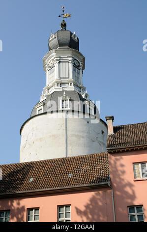 Schloss Jever, Jever, Friesland, Niedersachsen, Deutschland.   Castle Jever, Friesland, Lower Saxony, Germany. - Stock Image