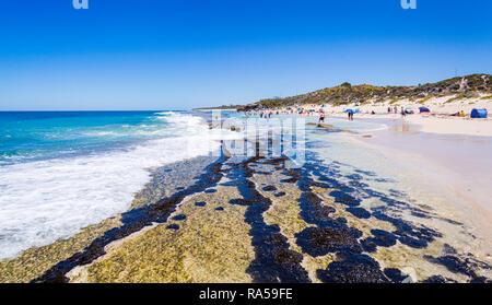Yanchep Lagoon beach - Stock Image