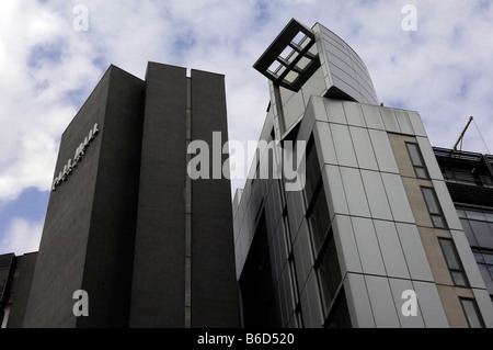 salford quays mancheter uk england architecture accommodation housing flats appartments - Stock Image