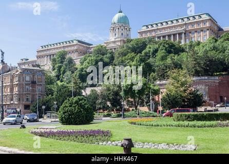 Buda Castle, Budapest, Hungary - Stock Image