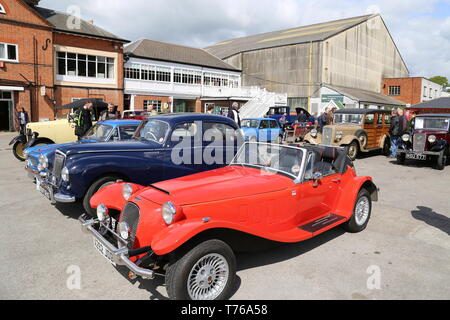 Panther Kallista (1983), British Marques Day, 28 April 2019, Brooklands Museum, Weybridge, Surrey, England, Great Britain, UK, Europe - Stock Image