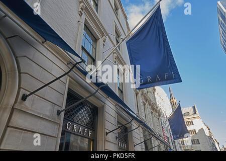 bond street london  graff - Stock Image