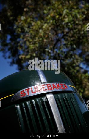 Vintage Studebaker truck - Stock Image