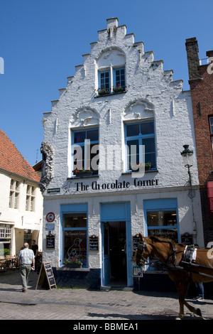 City trip bruges (brugge), Belgium - Stock Image