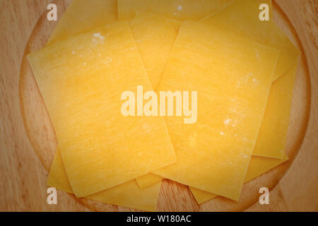 Italy Molise lasagne in Brodo pasta - Stock Image