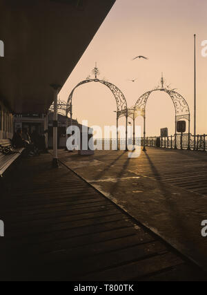 Palace pier. Brighton. East Sussex. England. UK - Stock Image