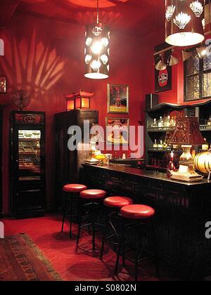 Bar in the Hotel California, Baja. - Stock Image