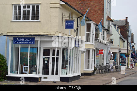 Aldeburgh Contemporary Arts, High Street, Aldeburgh, Suffolk, UK - Stock Image