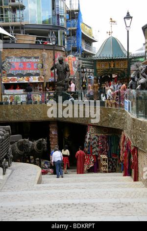 Section of the New Camden Market Development, London, UK - Stock Image