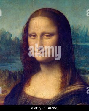 Mona Lisa by Leonardo da Vinci - Stock Image