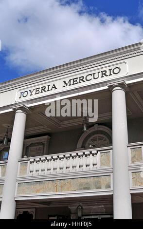 Joyeria Mercurio boutique Panama city, Panama Republic - Stock Image