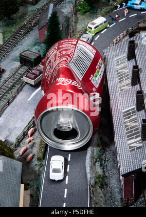 A representation of the scale of the problem our litter is causing. - Stock Image