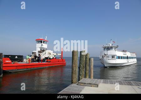 Fair Harbor, Fire Island, NY, USA - Stock Image