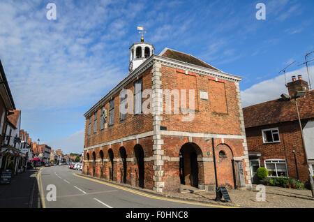The Market Hall, Old Amersham, Buckinghamshire, England UK. - Stock Image
