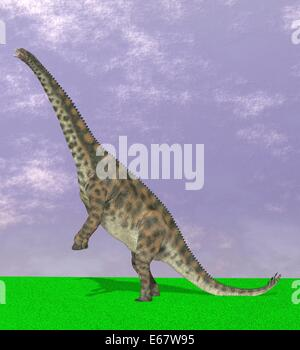 Dinosaurier Spinophorosaurus / dinosaur Spinophorosaurus - Stock Image