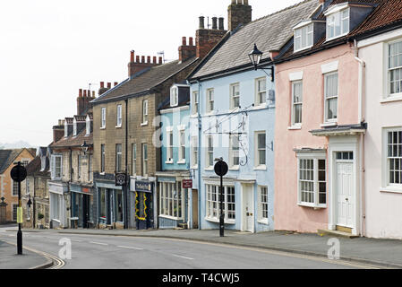 Malton, North Yorkshire, England UK - Stock Image