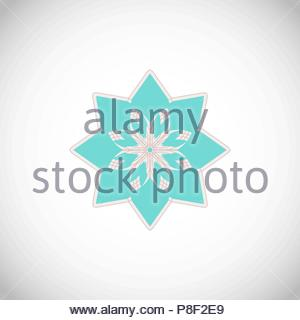 Geometrical ornament. - Stock Image