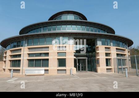 Betty & Gordon Moore Library, Cambridge University - Stock Image