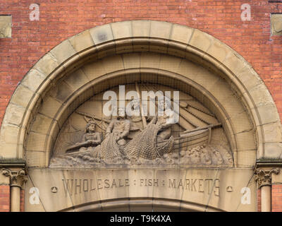 Wholesale Fish Markets, Manchester - Stock Image
