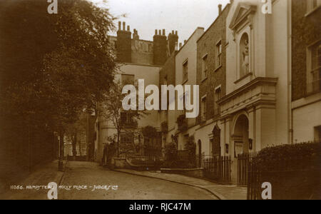 Holly Place, Hampstead, London. - Stock Image