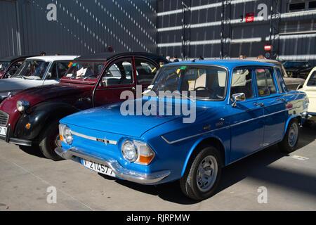 1968 Renault 10. Retro Málaga 2019. Spain. - Stock Image
