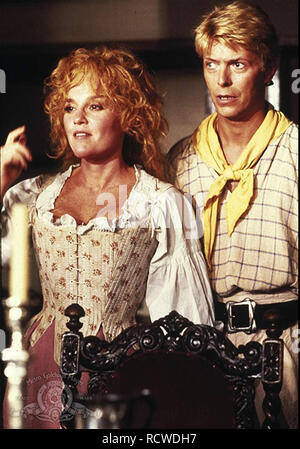 YELLOWBEARD 1983 Orion Pictures film with Madeline Khan and David Bowie - Stock Image