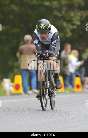 Bristol, UK.  10th September 2016. Tour of Britain stage 7a, time trial.  Mark Cavendish of Dimension Data  Credit: - Stock Image