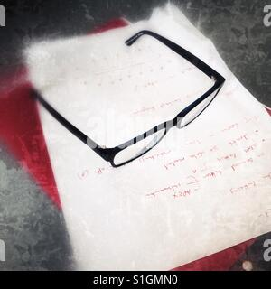 A pair of glasses / spectacles - Stock Image