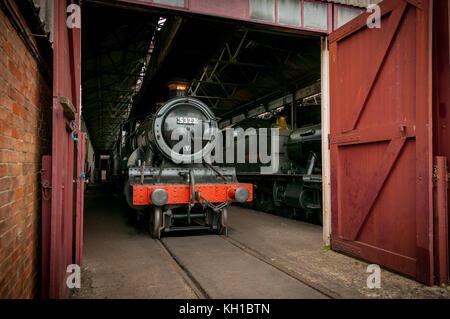 Great Western Railway locomotive no 5322, Didcot Railway Centre, United Kingdom - Stock Image