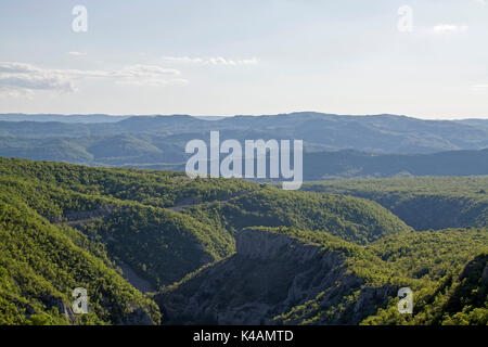 Vela Draga Is A Nature Reserve In Istria - Stock Image