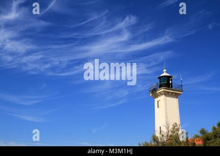 Lighthouse in Camargue, Provence, France - Stock Image