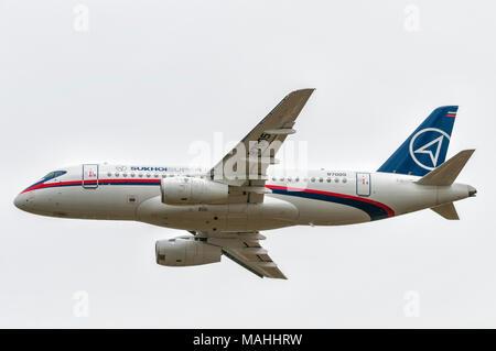 Sukhoi Superjet 100 - Stock Image