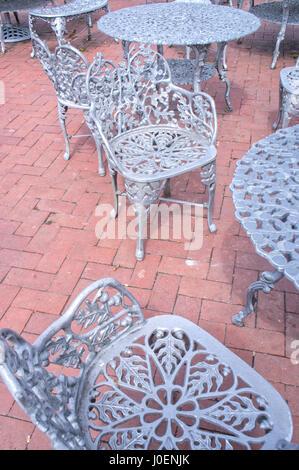Liberty Island, NYC Furniture - Stock Image