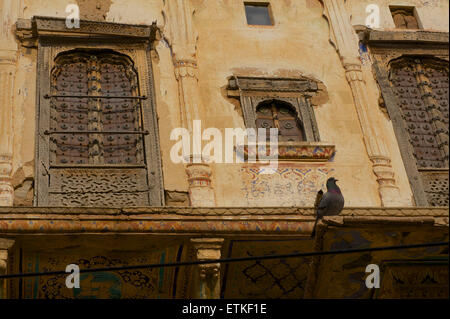Mandawa, Shekawati region, Rajasthan India - Stock Image