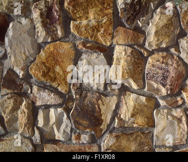 Rock Wall - Stock Image