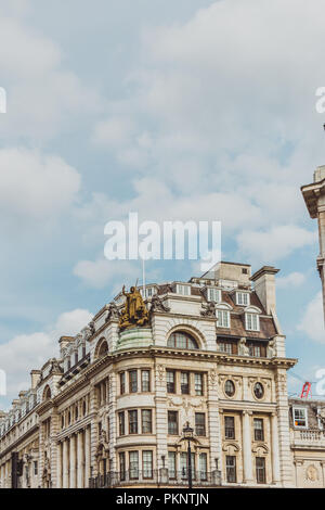 LONDON, UNITED KINGDOM - August 23rd, 2018: architecture in London city centre in Piccadilly - Stock Image